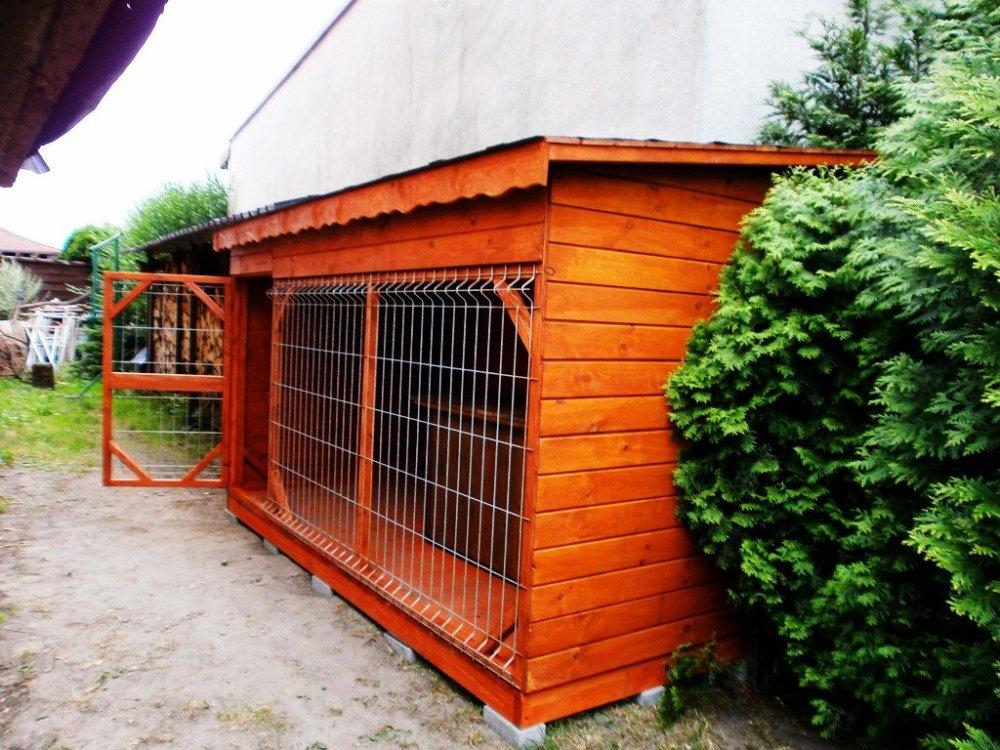 Dog Pound With Saddle Roof Miedziński