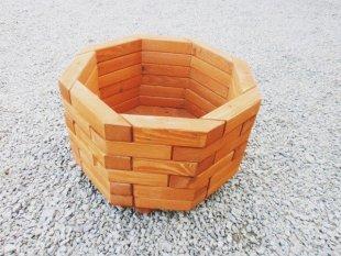 Big octagonal flower pot