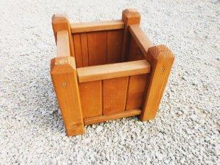 Small square pot