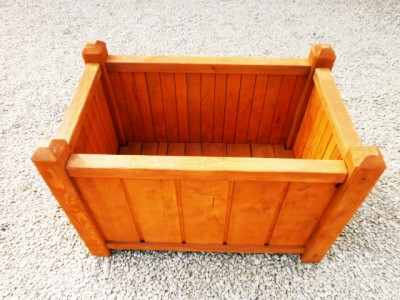 Rectangular pot