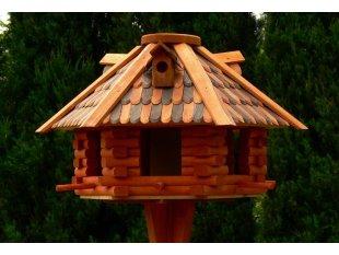 Small hexagon bird feeder