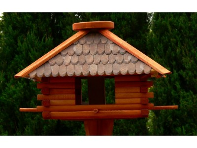 Large square bird feeder