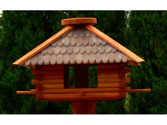 Large square bird feeder