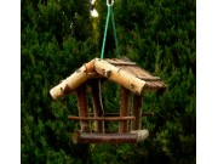 Vogelhäuschen von Stöcken