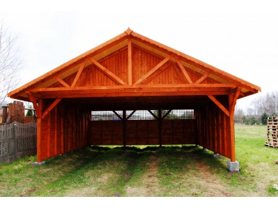 Two-station carport WD1