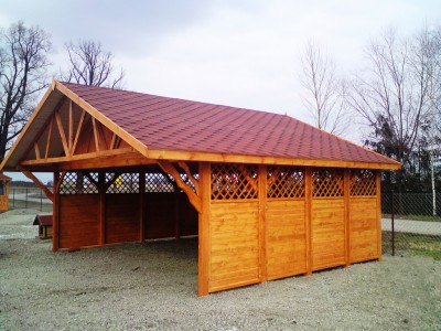 Two-station carport WD2