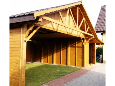 Two-station carport WD3