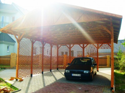 Two-station carport WD4