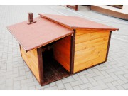 Big doghouse with anteroom