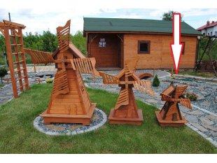 Small old-Polish windmill