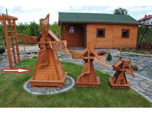 Große Alt-polnische Windmühle