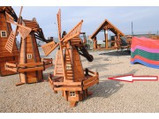 Mittelgroße Holländer Windmühle
