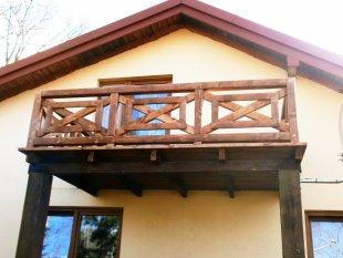 Balcony, balustrade