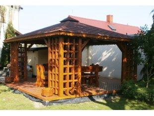 Old-Polish rectangular arbor