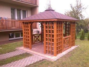 Old-Polish rectangular arbor 1